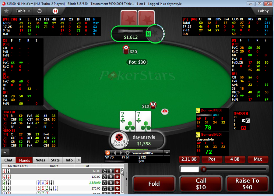 Poker tracker o holdem manager